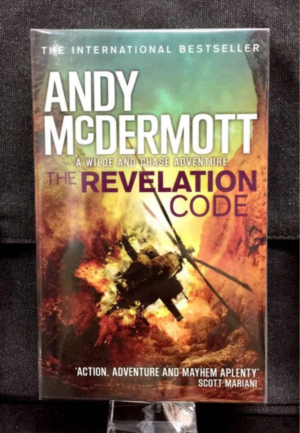 Andy McDermott - THE REVELATION CODE : A Wilde And Chase Adventure