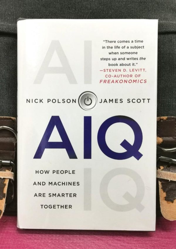 Nick Polson & James Scott - AIQ : How People And Machines Are Smarter Together