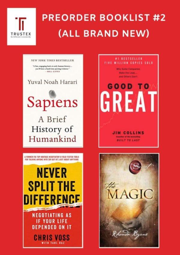 # Preorder Books 《INTERNATIONAL BESTSELLLING BUSINESS MANAGEMENT BOOKS》PREORDER BOOKLIST #2