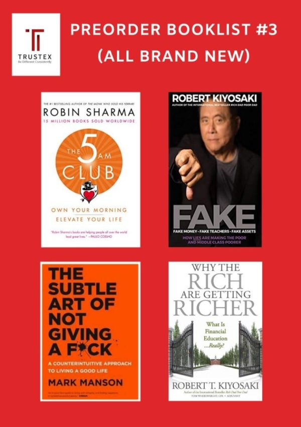 Preorder Books 《INTERNATIONAL BESTSELLLING BUSINESS MANAGEMENT BOOKS》PREORDER BOOKLIST #3 - Read Detail Contents For Price