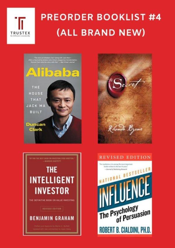 Preorder Books 《INTERNATIONAL BESTSELLLING BUSINESS MANAGEMENT BOOKS》PREORDER BOOKLIST #4